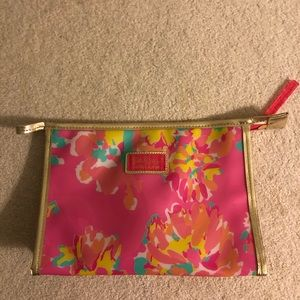 Lilly Pulitzer x Estée Lauder Cosmetic Bag